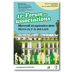Affiche Forum des Associations Paris 7
