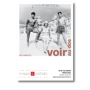 """Images & Portraits Flyer Ouvrage """"Voir au Dos"""""""