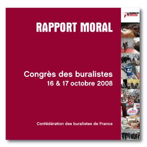 Rapport Moral Congrès Buralistes