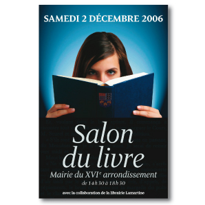 Salon du livre Paris 16e