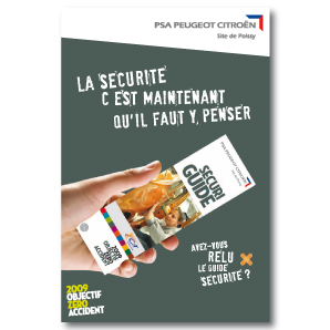 Peugeot SECURITE campagne interne 1
